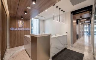 Glasshouse Dental- Reception Area