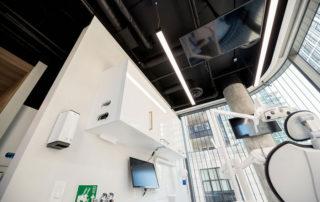 Modern Dental Office Ceiling Design