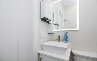 Modern Dental Office Bathroom